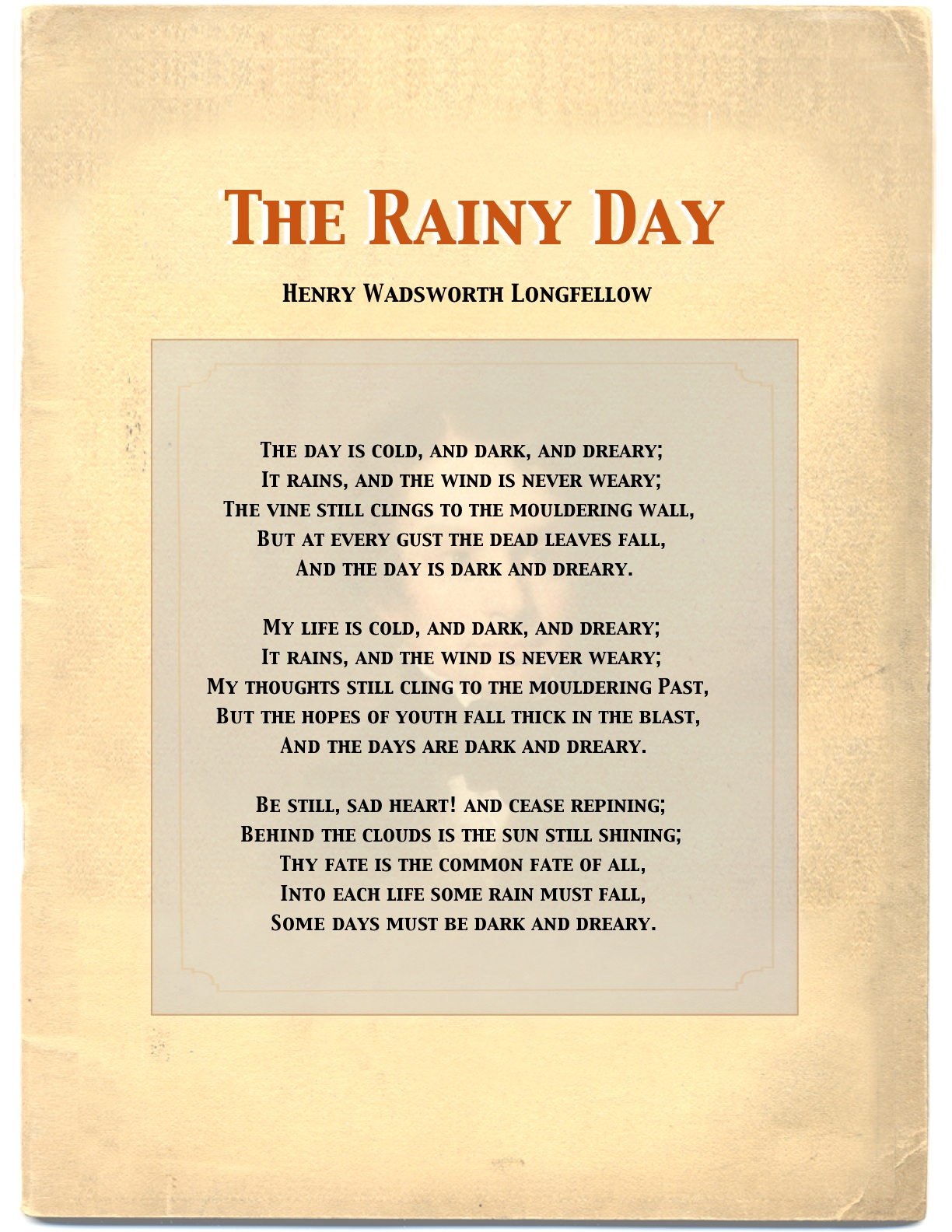 Rainy Day Poems Related Keywords & Suggestions - Rainy Day Poems ...