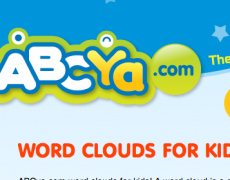 ABCya! Word Clouds for Kids