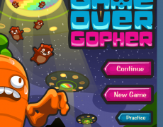 Game Over Gopher – coordinate graphing game