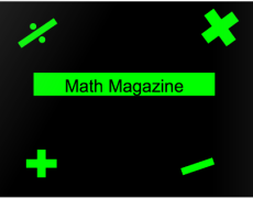 Math Magazine for Math Enthusiasts