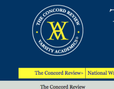 concord review essays