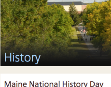 Maine National History Competition