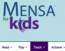 Bright! the smart newsletter for bright kids – by MENSA for Kids