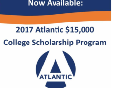2017 Atlantic $15,000 Scholarship Program